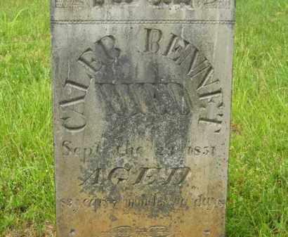 BENNETT, CALEB - Scioto County, Ohio   CALEB BENNETT - Ohio Gravestone Photos