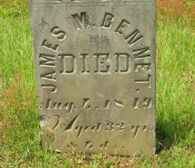 BENNETT, JAMES M. - Scioto County, Ohio | JAMES M. BENNETT - Ohio Gravestone Photos