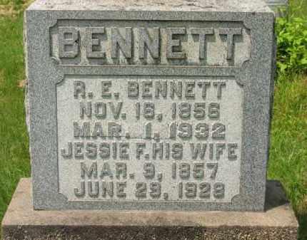 BENNETT, R. E. - Scioto County, Ohio | R. E. BENNETT - Ohio Gravestone Photos