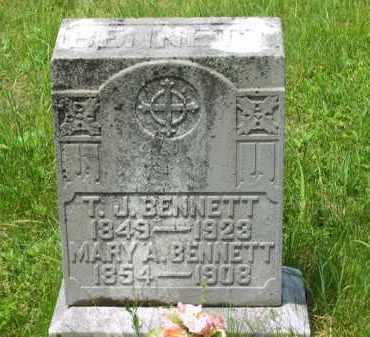 BENNETT, MARY A. - Scioto County, Ohio | MARY A. BENNETT - Ohio Gravestone Photos