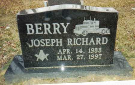 BERRY, JOSEPH RICHARD - Scioto County, Ohio   JOSEPH RICHARD BERRY - Ohio Gravestone Photos