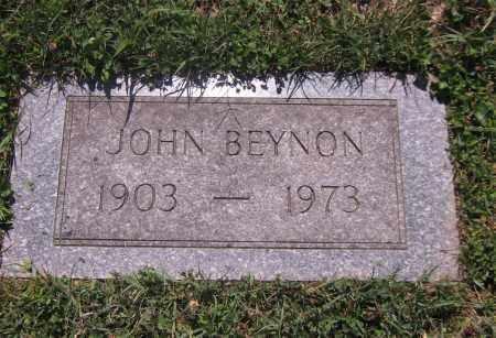 BEYNON, JOHN - Scioto County, Ohio | JOHN BEYNON - Ohio Gravestone Photos