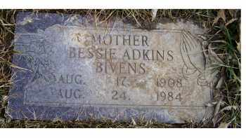 BIVENS, BESSIE - Scioto County, Ohio | BESSIE BIVENS - Ohio Gravestone Photos