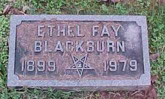 BLACKBURN, ETHEL FAY - Scioto County, Ohio   ETHEL FAY BLACKBURN - Ohio Gravestone Photos