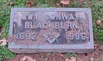 BLACKBURN, GUY CONWAY - Scioto County, Ohio   GUY CONWAY BLACKBURN - Ohio Gravestone Photos