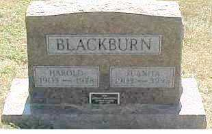 BLACKBURN, HAROLD - Scioto County, Ohio   HAROLD BLACKBURN - Ohio Gravestone Photos