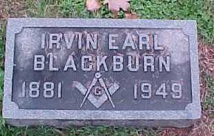 EARL BLACKBURN, IRVIN - Scioto County, Ohio | IRVIN EARL BLACKBURN - Ohio Gravestone Photos