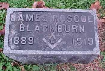 BLACKBURN, JAMES ROSCOE - Scioto County, Ohio | JAMES ROSCOE BLACKBURN - Ohio Gravestone Photos