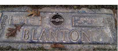 BLANTON, RAY E. - Scioto County, Ohio   RAY E. BLANTON - Ohio Gravestone Photos