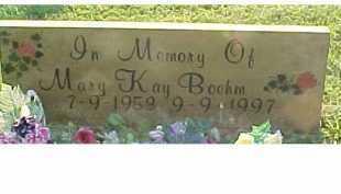 BOEHM, MARY KAY - Scioto County, Ohio | MARY KAY BOEHM - Ohio Gravestone Photos