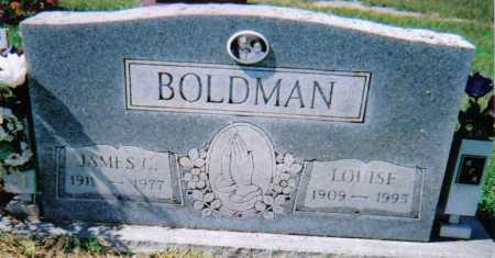 BOLDMAN, LOUISE - Scioto County, Ohio | LOUISE BOLDMAN - Ohio Gravestone Photos