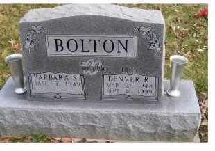 BOLTON, BARBARA S. - Scioto County, Ohio | BARBARA S. BOLTON - Ohio Gravestone Photos