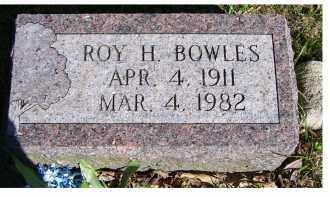 BOWLES, ROY H. - Scioto County, Ohio | ROY H. BOWLES - Ohio Gravestone Photos