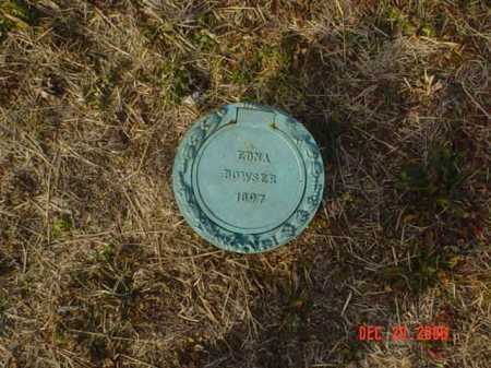 BOWSER, EDNA - Scioto County, Ohio | EDNA BOWSER - Ohio Gravestone Photos