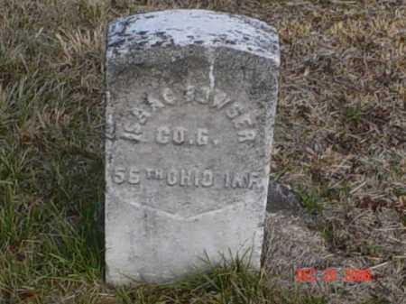 BOWSER, ISAAC - Scioto County, Ohio   ISAAC BOWSER - Ohio Gravestone Photos