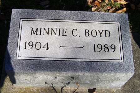 BOYD, MINNIE C. - Scioto County, Ohio | MINNIE C. BOYD - Ohio Gravestone Photos