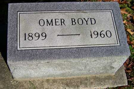 BOYD, OMER - Scioto County, Ohio   OMER BOYD - Ohio Gravestone Photos