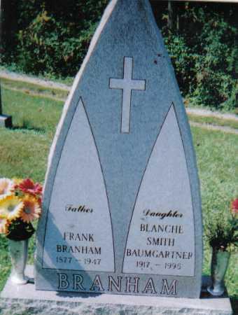 BRANHAM, FRANK - Scioto County, Ohio | FRANK BRANHAM - Ohio Gravestone Photos