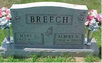 BREECH, ALBERT V. - Scioto County, Ohio | ALBERT V. BREECH - Ohio Gravestone Photos