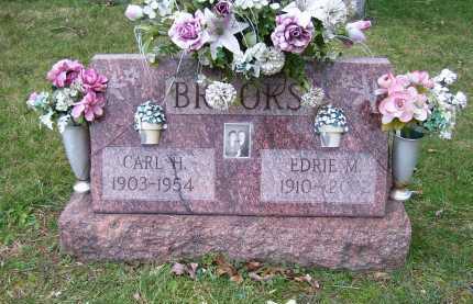 BROOKS, EDRIE M. - Scioto County, Ohio | EDRIE M. BROOKS - Ohio Gravestone Photos