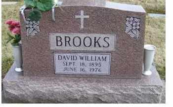 BROOKS, DAVID WILLIAM - Scioto County, Ohio | DAVID WILLIAM BROOKS - Ohio Gravestone Photos