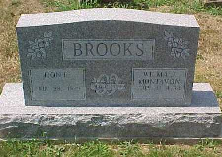 BROOKS, DON E. - Scioto County, Ohio | DON E. BROOKS - Ohio Gravestone Photos