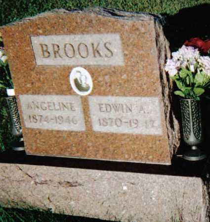 BROOKS, EDWIN A. - Scioto County, Ohio   EDWIN A. BROOKS - Ohio Gravestone Photos