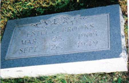 BROOKS, ESTEL C. - Scioto County, Ohio | ESTEL C. BROOKS - Ohio Gravestone Photos
