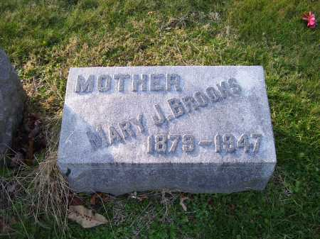 BROOKS, MARY J. - Scioto County, Ohio | MARY J. BROOKS - Ohio Gravestone Photos