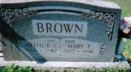 BROWN, MARY F. - Scioto County, Ohio | MARY F. BROWN - Ohio Gravestone Photos