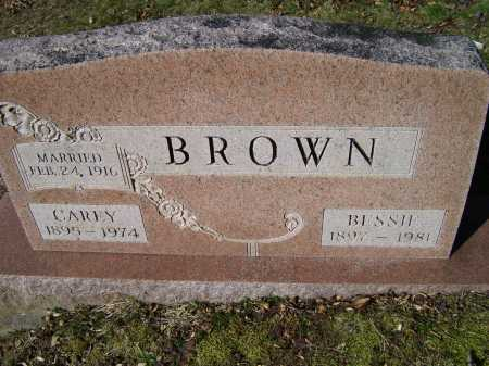 BROWN, CAREY - Scioto County, Ohio | CAREY BROWN - Ohio Gravestone Photos