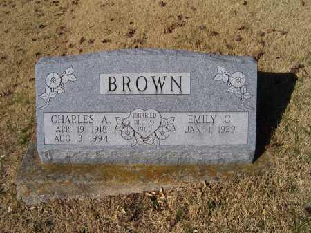 BROWN, CHARLES A. - Scioto County, Ohio | CHARLES A. BROWN - Ohio Gravestone Photos