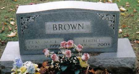 BROWN, EDITH C. - Scioto County, Ohio | EDITH C. BROWN - Ohio Gravestone Photos