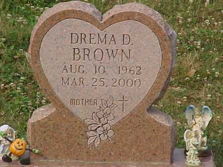 BROWN, DREMA D. - Scioto County, Ohio | DREMA D. BROWN - Ohio Gravestone Photos
