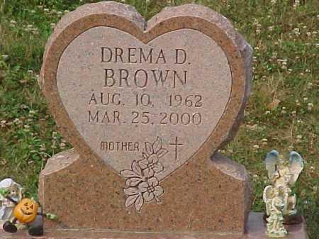BROWN, DREMA D. - Scioto County, Ohio | DREMA D. BROWN - Ohio Gravestone Photos