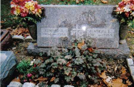 BROWN, EDWARD J. - Scioto County, Ohio | EDWARD J. BROWN - Ohio Gravestone Photos