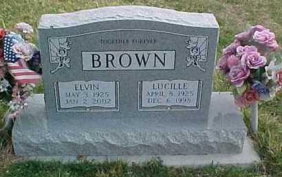BROWN, LUCILLE - Scioto County, Ohio   LUCILLE BROWN - Ohio Gravestone Photos
