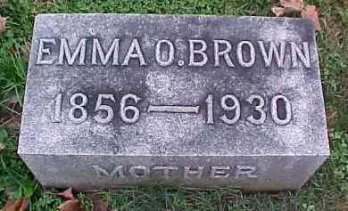 BROWN, EMMA O. - Scioto County, Ohio | EMMA O. BROWN - Ohio Gravestone Photos