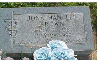 BROWN, JONATHAN LEE - Scioto County, Ohio | JONATHAN LEE BROWN - Ohio Gravestone Photos