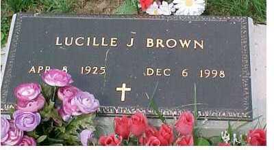 BROWN, LUCILLE J. - Scioto County, Ohio | LUCILLE J. BROWN - Ohio Gravestone Photos