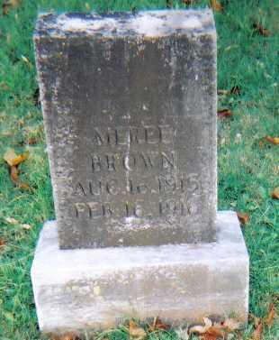BROWN, MEREE - Scioto County, Ohio | MEREE BROWN - Ohio Gravestone Photos