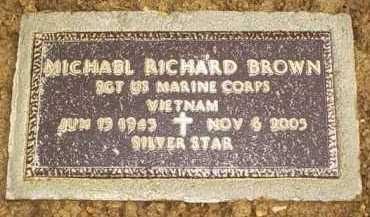 BROWN, MICHAEL RICHARD - Scioto County, Ohio | MICHAEL RICHARD BROWN - Ohio Gravestone Photos