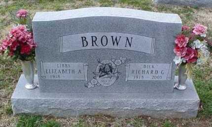 BROWN, ELIZABETH A. - Scioto County, Ohio | ELIZABETH A. BROWN - Ohio Gravestone Photos