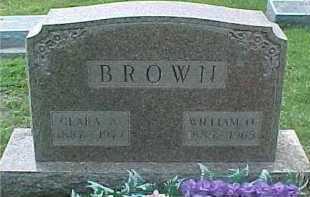 BROWN, WILLIAM O. - Scioto County, Ohio | WILLIAM O. BROWN - Ohio Gravestone Photos