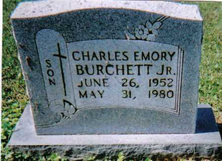 BURCHETT, CHARLES EMORY JR. - Scioto County, Ohio | CHARLES EMORY JR. BURCHETT - Ohio Gravestone Photos