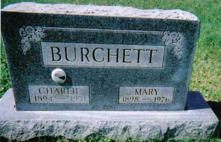 BURCHETT, MARY - Scioto County, Ohio | MARY BURCHETT - Ohio Gravestone Photos