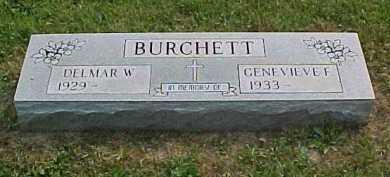 BURCHETT, GENEVIEVE F. - Scioto County, Ohio | GENEVIEVE F. BURCHETT - Ohio Gravestone Photos