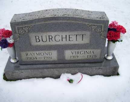 BURCHETT, VIRGINIA - Scioto County, Ohio | VIRGINIA BURCHETT - Ohio Gravestone Photos