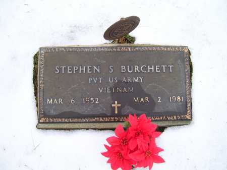 BURCHETT, STEPHEN S. - Scioto County, Ohio | STEPHEN S. BURCHETT - Ohio Gravestone Photos