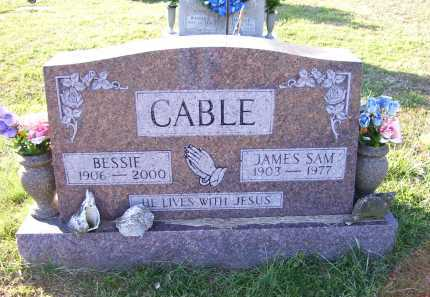 CABLE, BESSIE - Scioto County, Ohio | BESSIE CABLE - Ohio Gravestone Photos